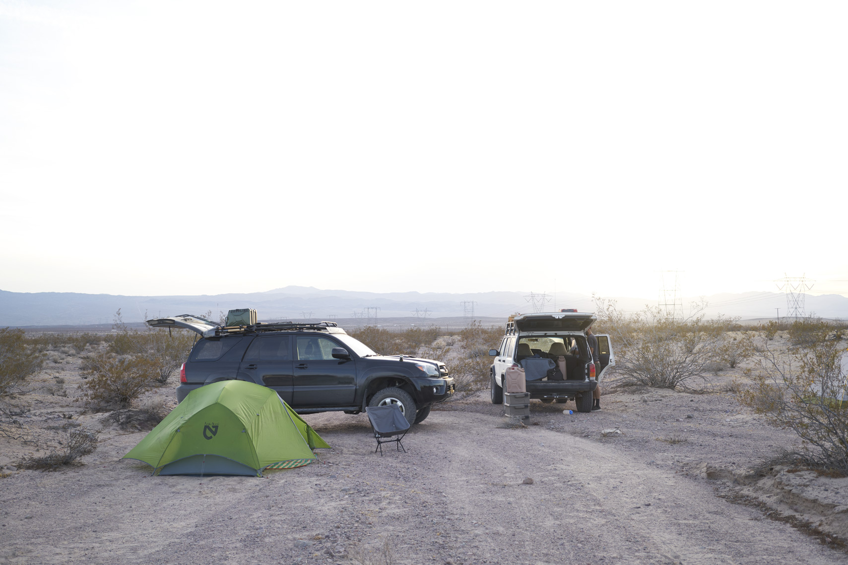 Camping in Mojave National Preserve California Sean Dagen Photography
