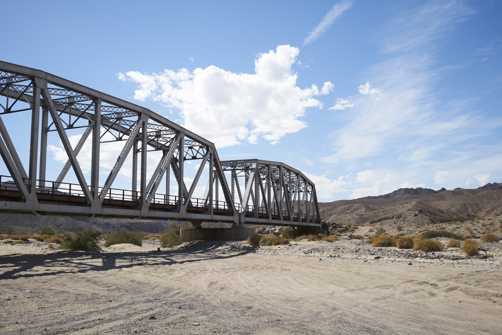 Train trestle through Afton Canyon Mojave National Preserve California Sean Dagen Photography