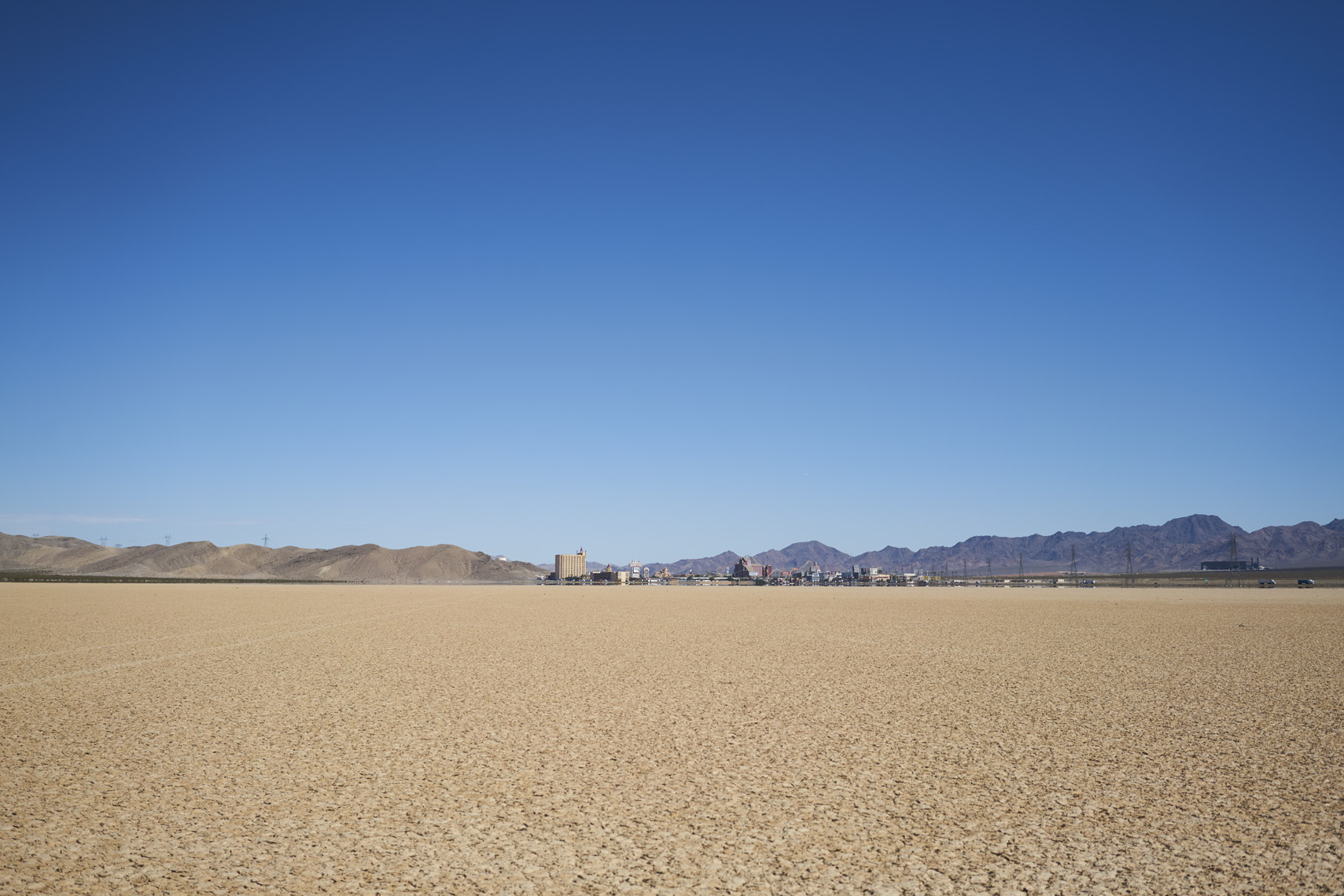Dry lake bed in Ivanpah Nevada Sean Dagen Photography