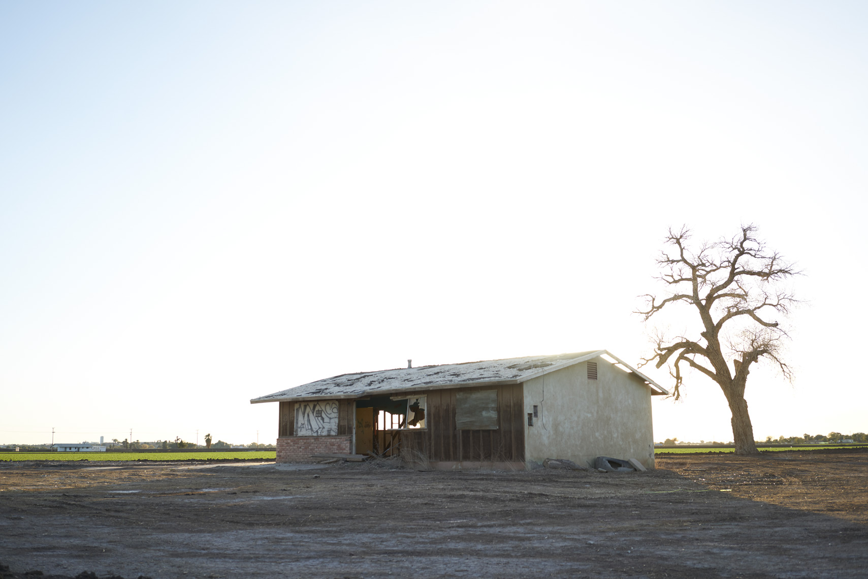 Abandoned shack on the outskirts of Yuma Arizona Sean Dagen Photography