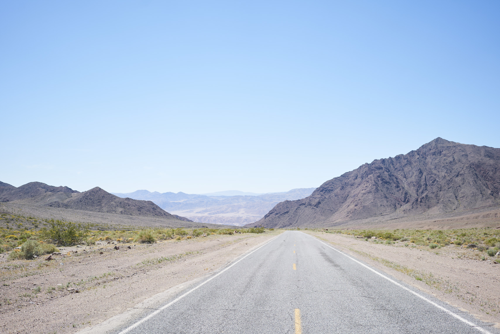 Road through Death Valley National Park Sean Dagen Photography