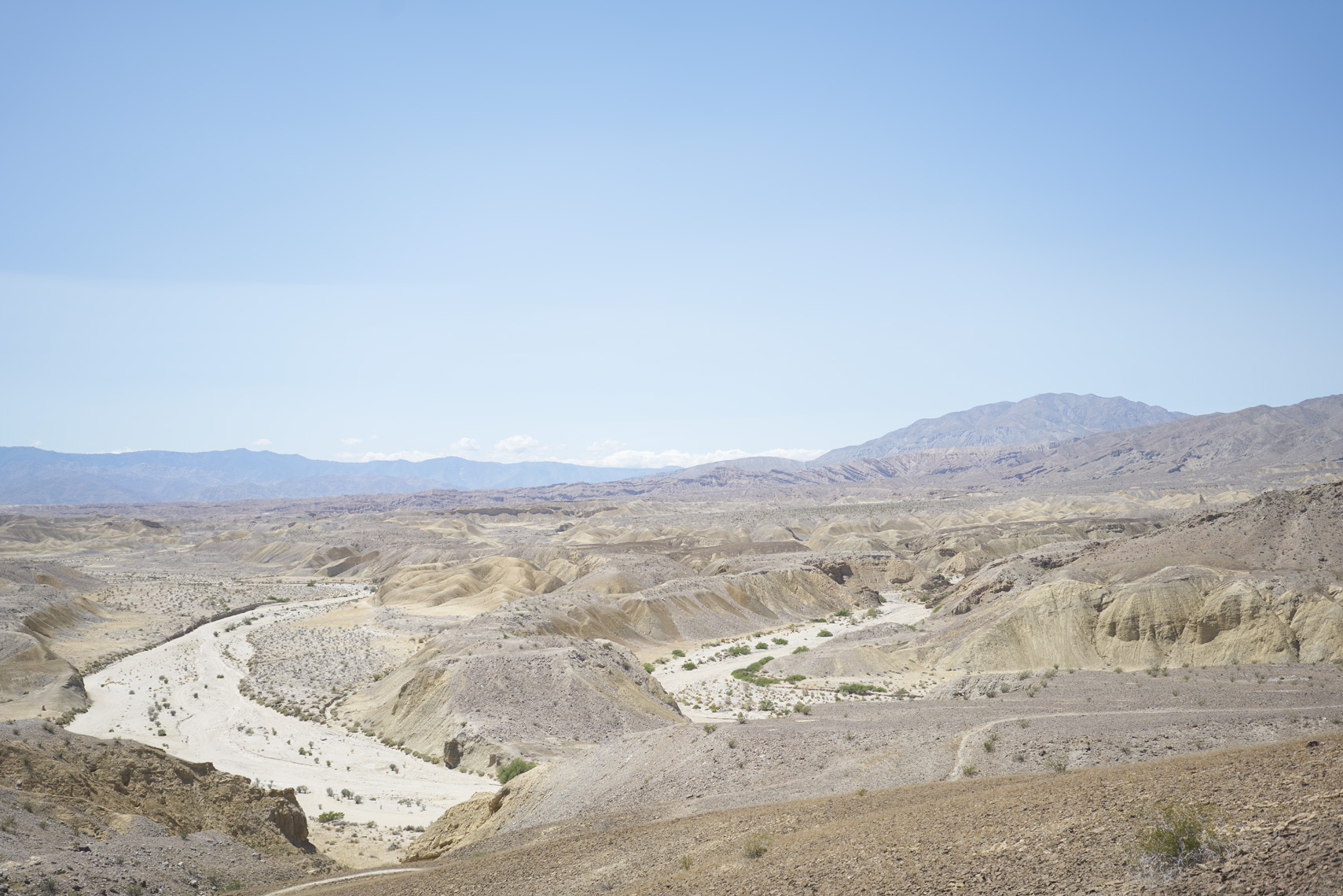 View of Fish Creek Wash Anza-Borrego State Park California Sean Dagen Photography