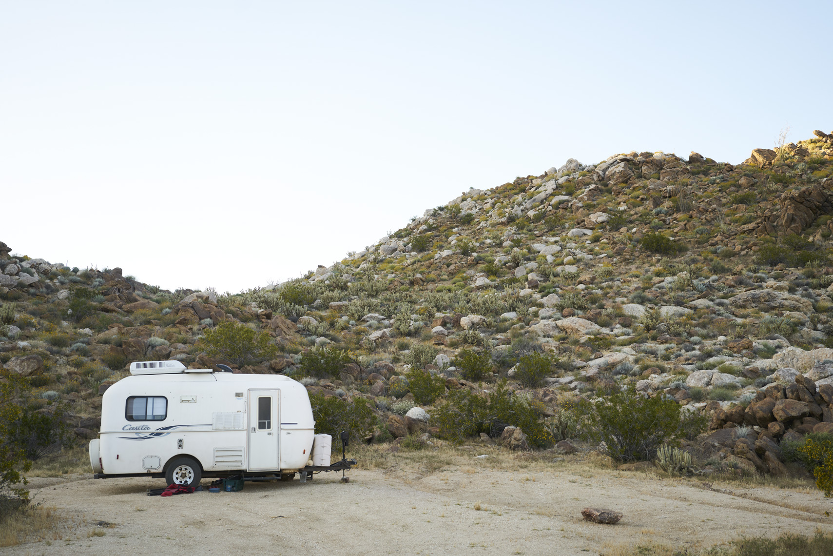 Trailer in Anza-Borrego State Park California Sean Dagen Photography